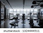 modern light gym. sports... | Shutterstock . vector #1324444511