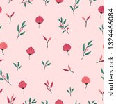 spring theme seamless pattern... | Shutterstock .eps vector #1324466084