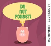 word writing text do not forget.... | Shutterstock . vector #1324530794