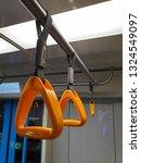 couple of new orange plastic... | Shutterstock . vector #1324549097