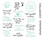 Hand Lettering Phrases I Need...