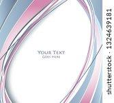 vector modern cover template | Shutterstock .eps vector #1324639181