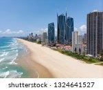broadbeach from the air. | Shutterstock . vector #1324641527