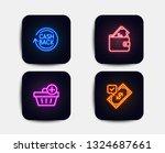 neon glow lights. set of add... | Shutterstock .eps vector #1324687661