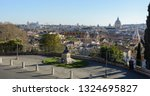 view of rome from the pincho... | Shutterstock . vector #1324695827