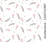seamless pattern with...   Shutterstock .eps vector #1324712987