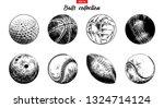 vector engraved style... | Shutterstock .eps vector #1324714124