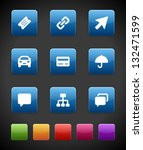 web buttons and icons for... | Shutterstock .eps vector #132471599