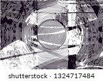 distressed background in black... | Shutterstock . vector #1324717484