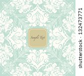 invitation card | Shutterstock .eps vector #132473771