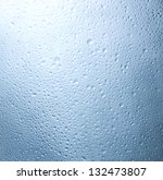 water droplets on the glass... | Shutterstock . vector #132473807