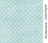 seamless polka dots patten on... | Shutterstock . vector #132474695