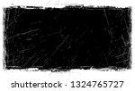 halftone grunge vector frame... | Shutterstock .eps vector #1324765727