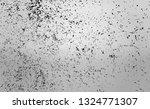 black dust texture on...   Shutterstock .eps vector #1324771307