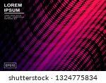 dynamic minimalist background... | Shutterstock .eps vector #1324775834