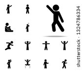 child  dance icon. child icons... | Shutterstock .eps vector #1324786334