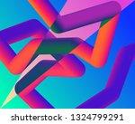 fluid landing page background.... | Shutterstock .eps vector #1324799291