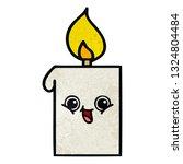 retro grunge texture cartoon of ... | Shutterstock .eps vector #1324804484
