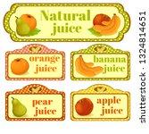 illustration of a healthy fruit.... | Shutterstock . vector #1324814651