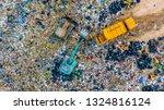 Garbage Pile In Trash Dump Or...