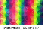 geometric design. colorful... | Shutterstock .eps vector #1324841414
