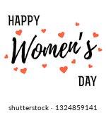 hand written lettering... | Shutterstock .eps vector #1324859141