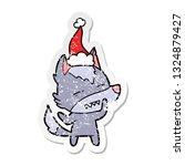 hand drawn distressed sticker... | Shutterstock .eps vector #1324879427