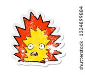 retro distressed sticker of a... | Shutterstock .eps vector #1324899884