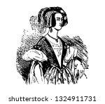 secret talk of duchess of... | Shutterstock .eps vector #1324911731