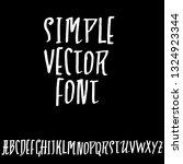 modern brush lettering.... | Shutterstock .eps vector #1324923344