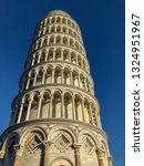 leaning tower of pisa ... | Shutterstock . vector #1324951967