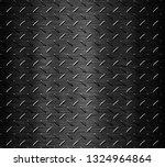 black stainless steel background | Shutterstock . vector #1324964864
