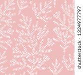 asparagus fern. hand drawn...   Shutterstock .eps vector #1324977797