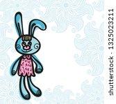 bunny. vector illustration   Shutterstock .eps vector #1325023211
