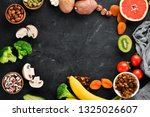 the food contains natural...   Shutterstock . vector #1325026607
