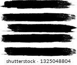 grunge paint roller . vector... | Shutterstock .eps vector #1325048804