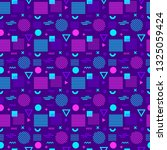 seamless pattern with different ... | Shutterstock .eps vector #1325059424