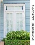 beautiful window style in...   Shutterstock . vector #132506441