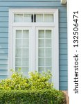 beautiful window style in... | Shutterstock . vector #132506471
