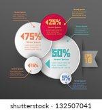 conceptual vector design... | Shutterstock .eps vector #132507041