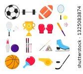 sport gaming composition set...   Shutterstock .eps vector #1325083874