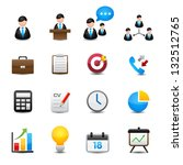business and finance icons | Shutterstock .eps vector #132512765