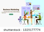 marketing business corporation... | Shutterstock .eps vector #1325177774