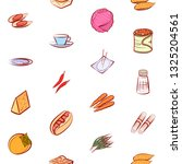 food images. background for... | Shutterstock .eps vector #1325204561