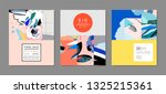 creative sale headers or... | Shutterstock .eps vector #1325215361