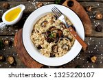 traditional italian risotto...   Shutterstock . vector #1325220107