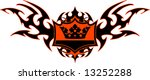 a tribal style signet for...   Shutterstock .eps vector #13252288