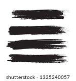 brush stroke set isolated on... | Shutterstock .eps vector #1325240057