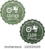 Grown Locally Farm Fresh Stamps
