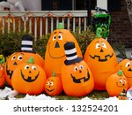 Halloween Decorations In The...
